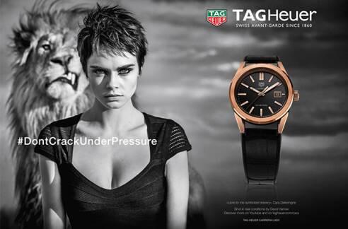 TAG Heuer brachte mit seinen Uhren, Kampagnen und Testimonials Glamour auf die Baselworld