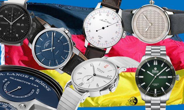 7 neue Uhren von deutschen Uhrenmarken