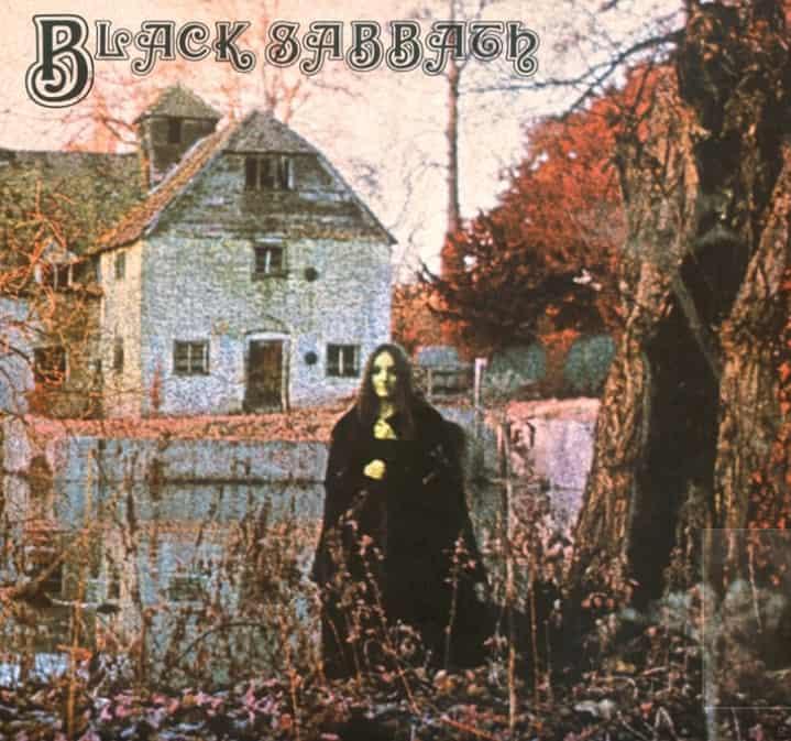 Das Cover Album von Black Sabbath 1969