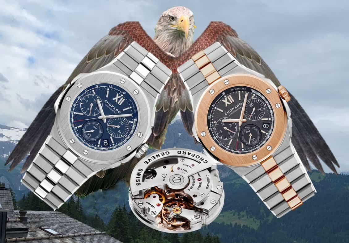 Chopard Alpine Eagle XL und Technik des ChronographenChopard Alpine Eagle XL Chronograph: Markantes Design und ausgereifte Technik