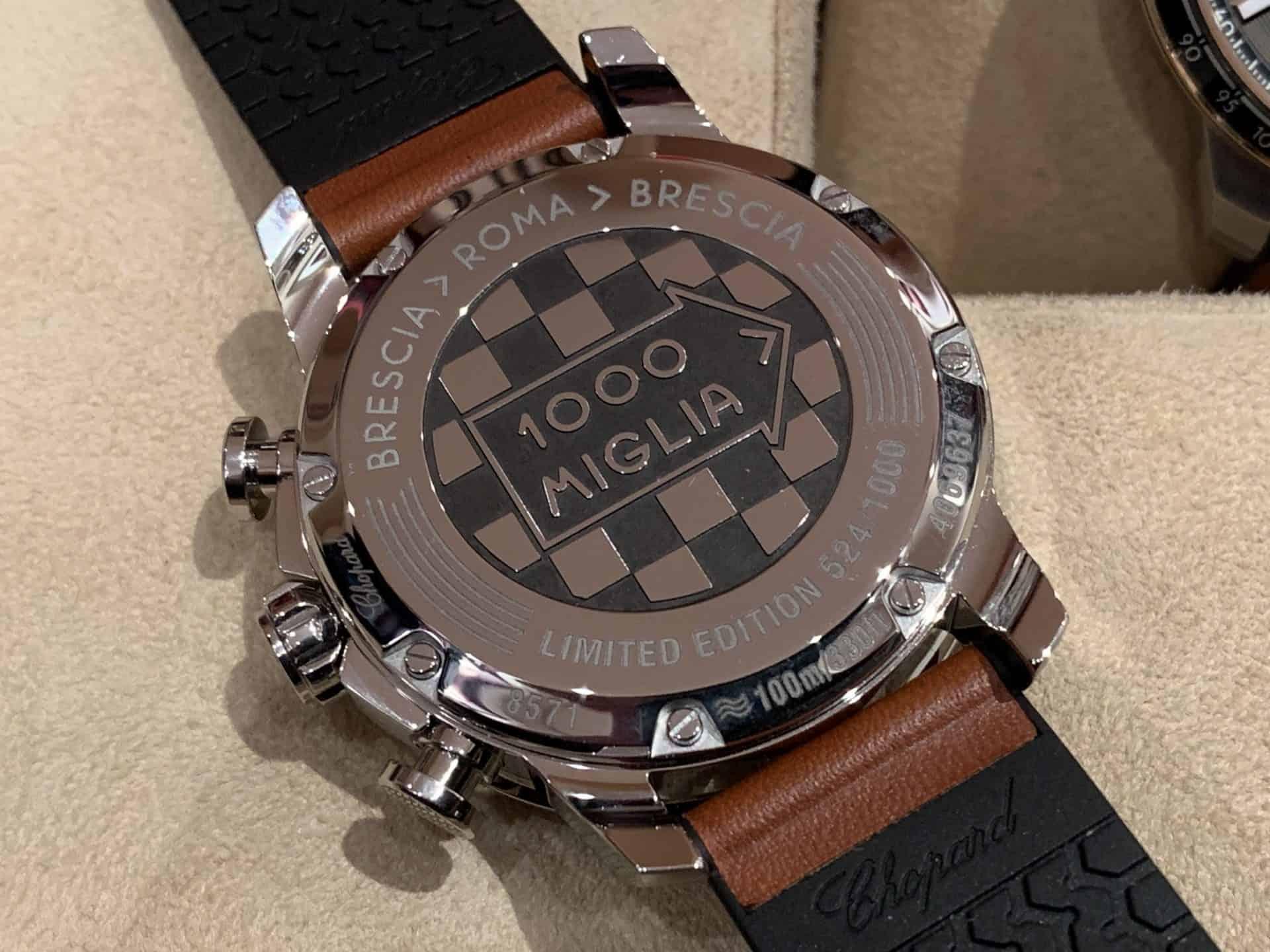 Chopard war zwar auf der Basler Uhrenmesse, fühlt sich jedoch stets Genf verbunden