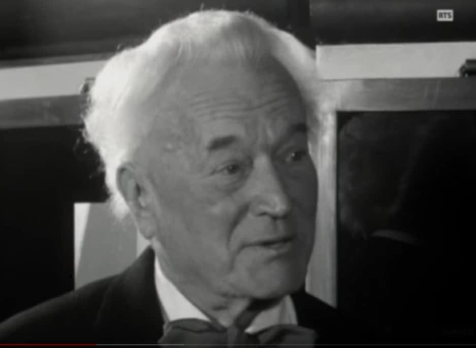 Der Rolex-Gründer Hans Wilsdorf im Jahr 1959. Er starb am 6. Juli 1960.
