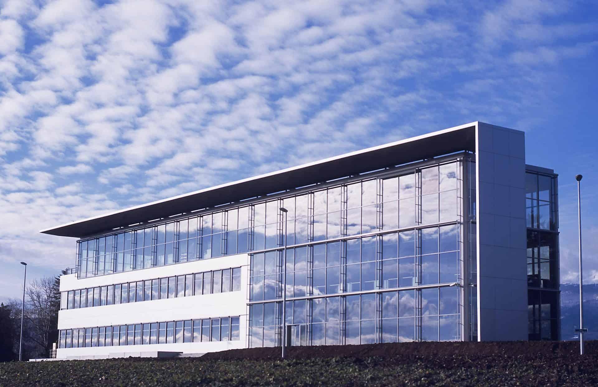 Manufakturgebäude von Roger Dubuis in Genf Meyrin