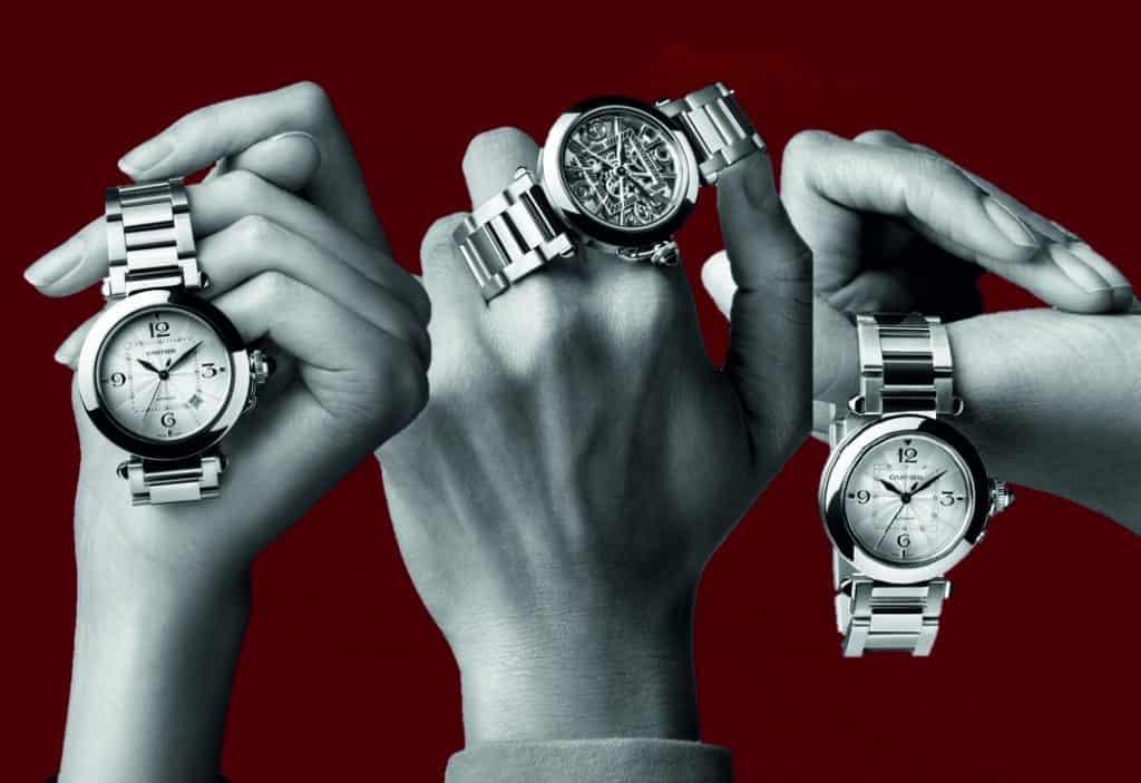 Pasha de Cartier 2020 - drei Versionen mit 35 und 41 Millimeter Gehäusedurchmesser