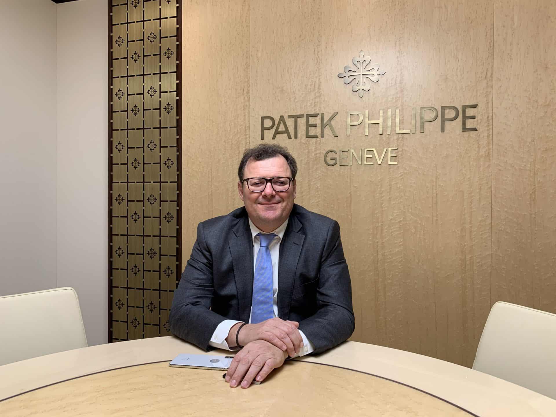 Auch Patek Philipppe Präsident Thierry Stern hat den Weggang von Basel verkündet