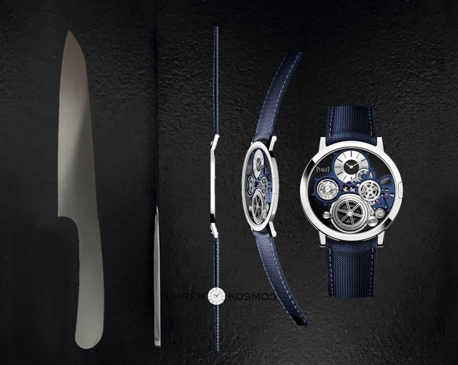 Piaget Altiplano Ultimate Concept: Die dünnste mechanische Uhr der Welt!