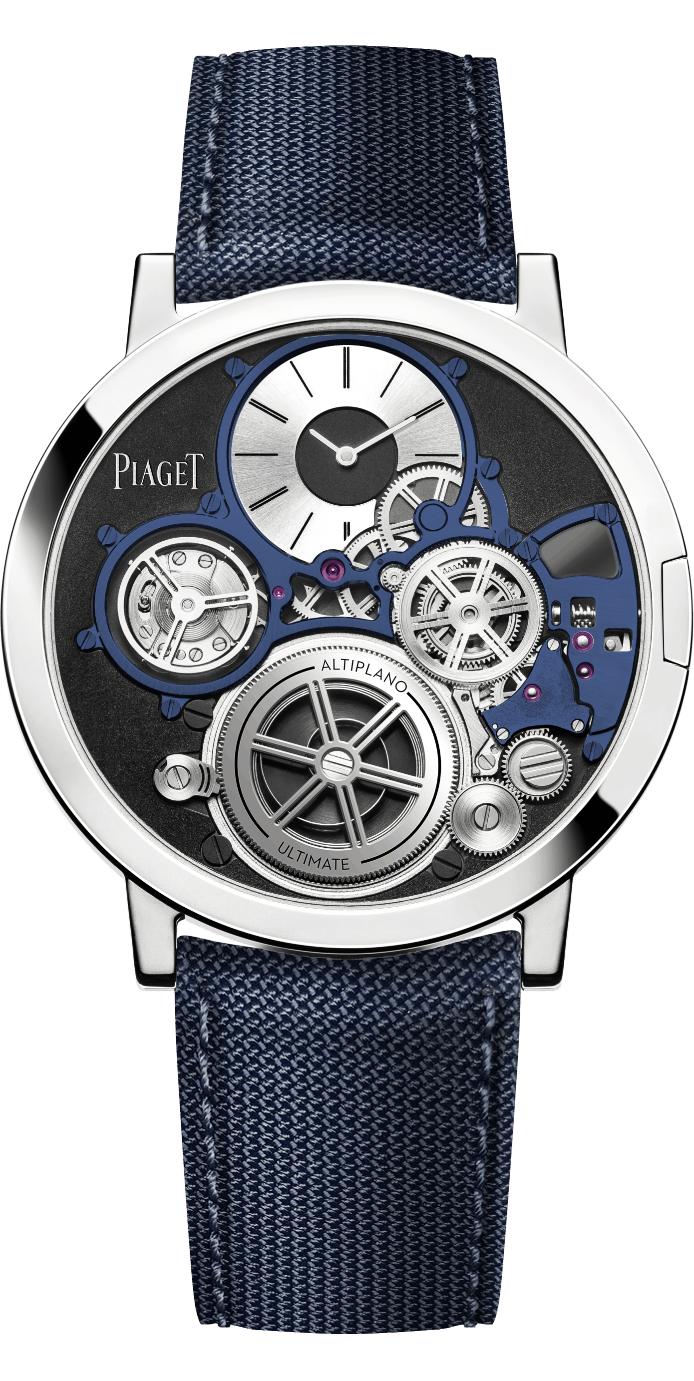 "In blau - Piaget ""Altiplano Ultimate Concept"", Referenz G0A45502"