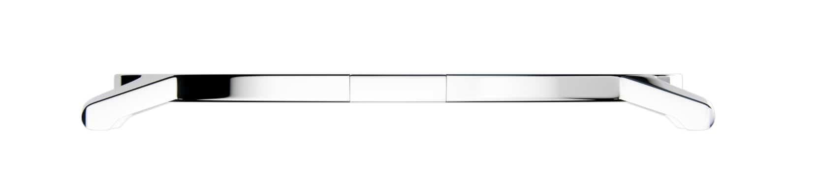 Das Kobalt-Chrom-Gehäuse der Piaget Uhr im seitlichen Profil