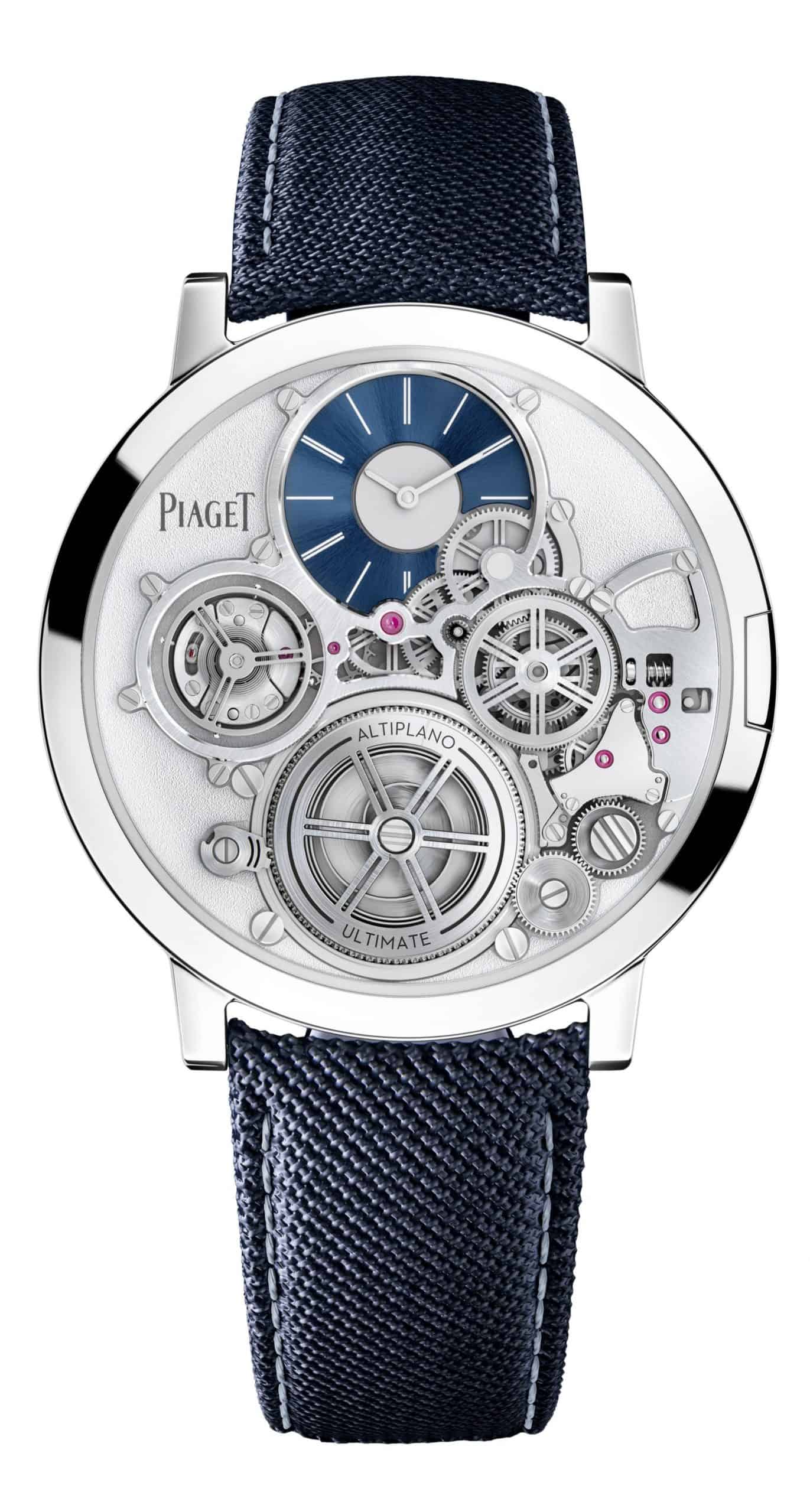 "In Silber - Piaget ""Altiplano Ultimate Concept"" Referenz G0A45501"