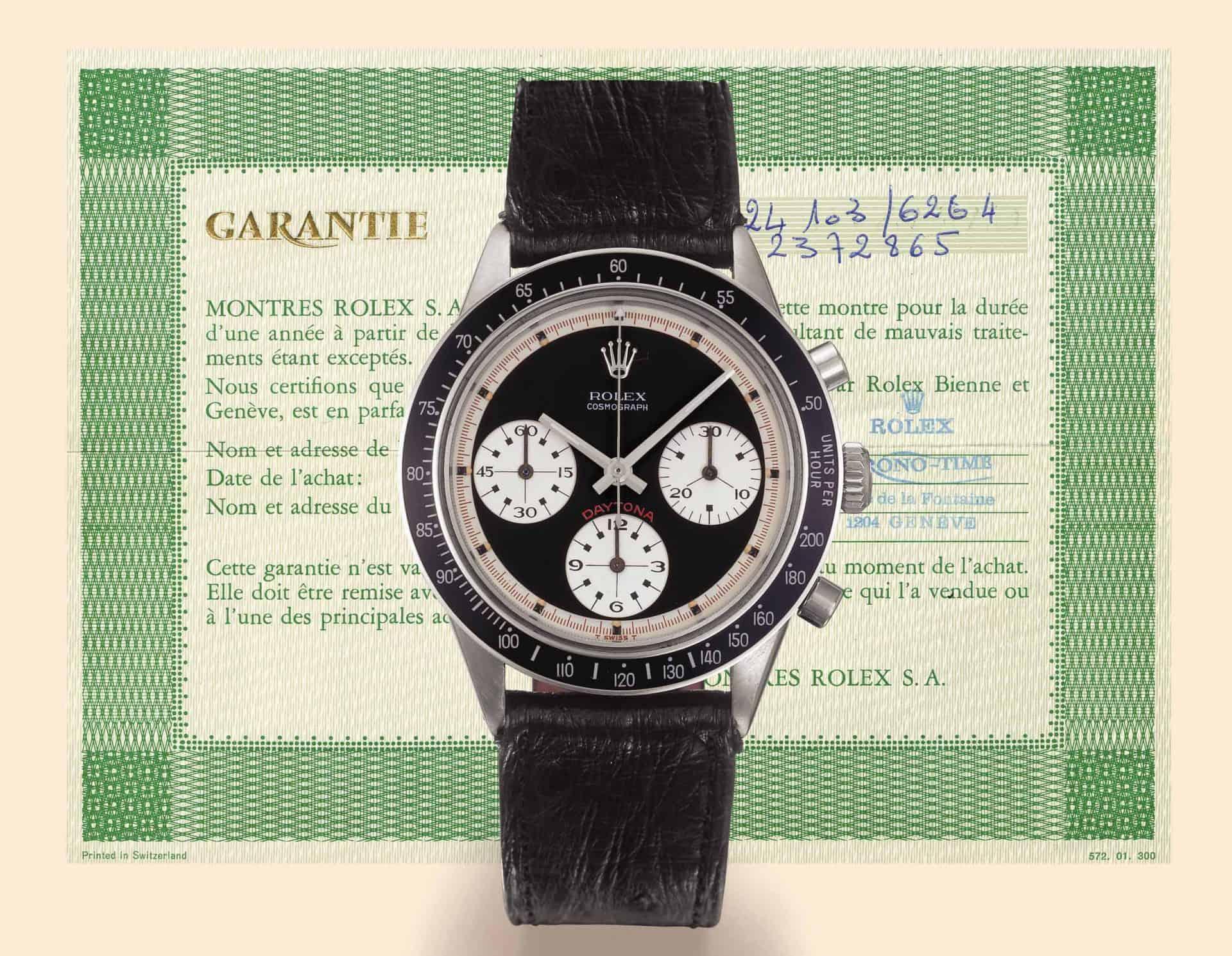 """Gefühle machen aus einer Uhr etwas Besonderes. Der absolute Star unter den Rolex """"Daytona"""" Chronographen: Referenz 6264 mit Paul Newman-Zifferblatt"""