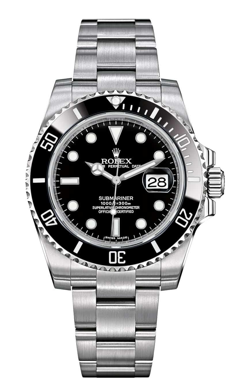"""Auch diese Modell ist ein gutes  Investment: Rolex """"Oyster Perpetual Submariner Date"""", Referenz 116610LN"""