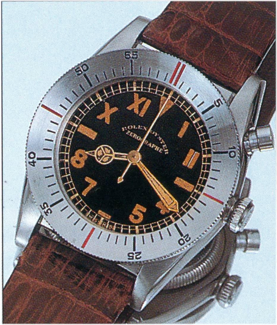 """Diese Rolex ist zwar kein Chronograph, aber gesucht: Rolex """"Zerographe"""", Referenz 3346"""
