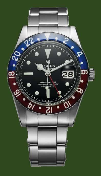 """Die """"Pespi"""" GMT-Master von Rolex blickt inzwischen auf 66 Jahre ununterbrochener Geschichte zurück"""