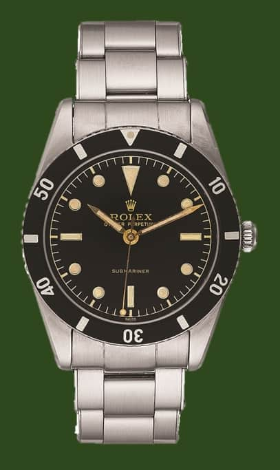 Rolex Submariner von 1953, Referenz 6204