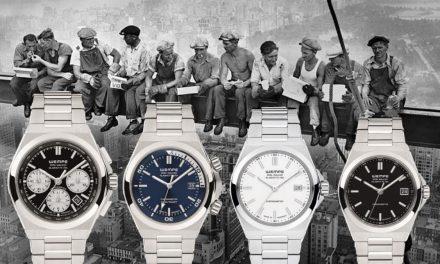 Die Wempe Iron Walker in Edelstahl ist eine chronometrische Evolution