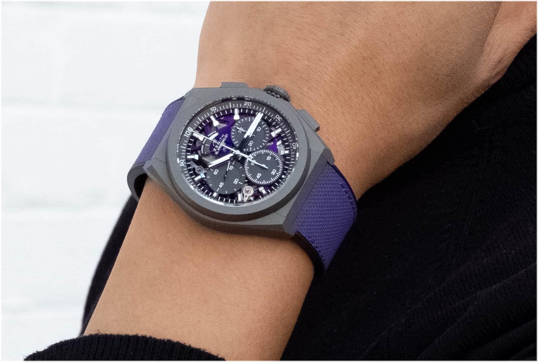 violett und schön - die Zenith Defy 21 Ultraviolet