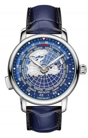 Montblanc Star Legacy Orbis Terrarum – die Welt am Handgelenk