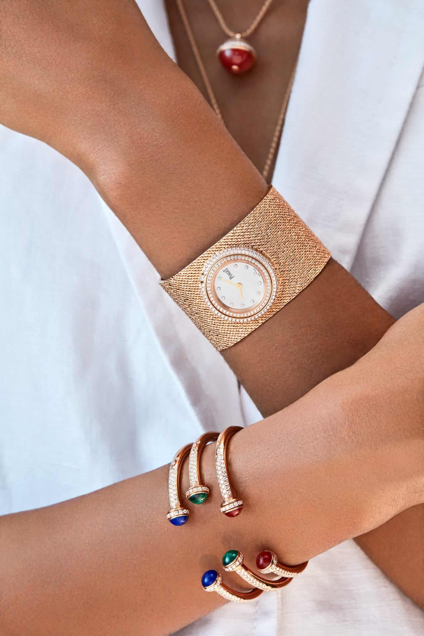 Chabi Nouri braucht ihre Energie gleichermaßen für Uhren wie Schmuck.