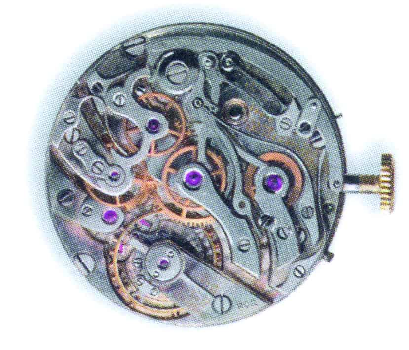Nur sechs Stück wurden im Jahr 1930 eingekauft: Kaliber LeCoultre 11GCCV