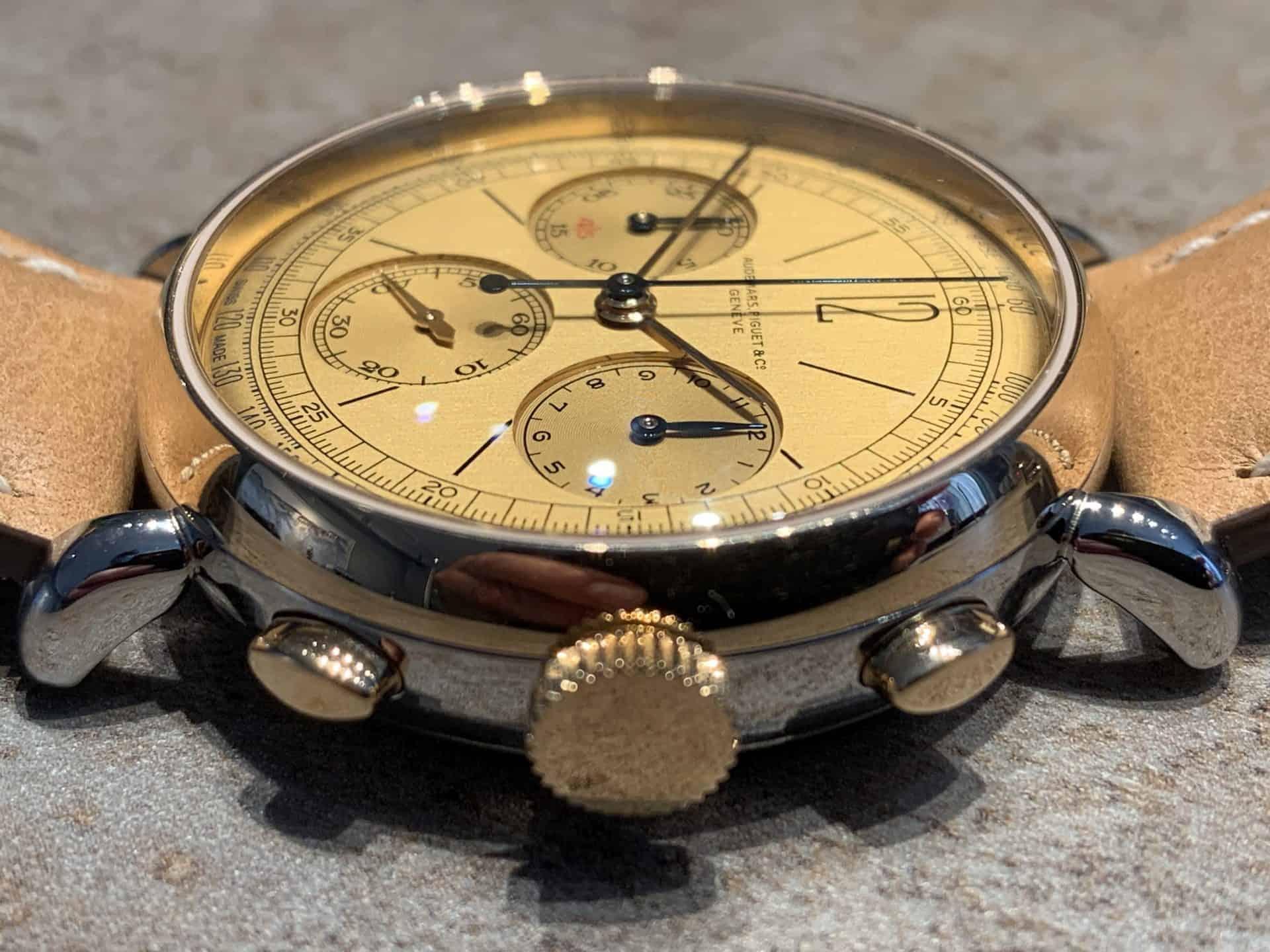 Audemars Piguet Automatik Chronograph Referenz 2659SSR.OO .A032VE.01 Foto GLB 07