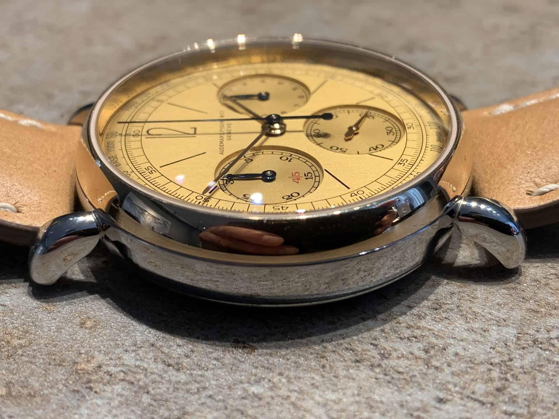 Audemars Piguet Automatik Chronograph Referenz 2659SSR.OO .A032VE.01 Foto GLB 08