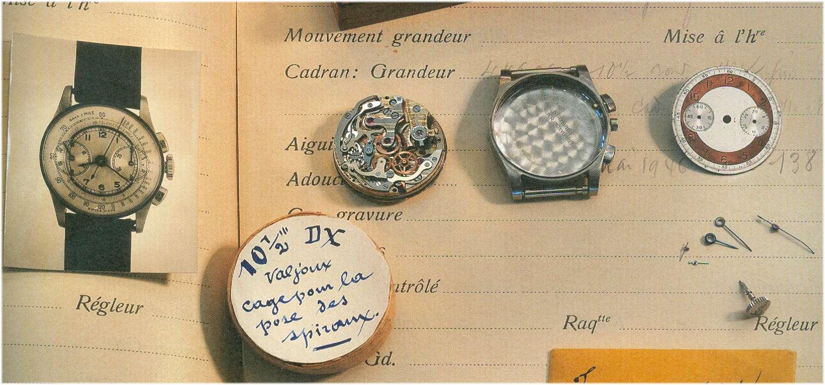 Der Damen-Chronograph, ausgestattet mit dem Kaliber 69 DX
