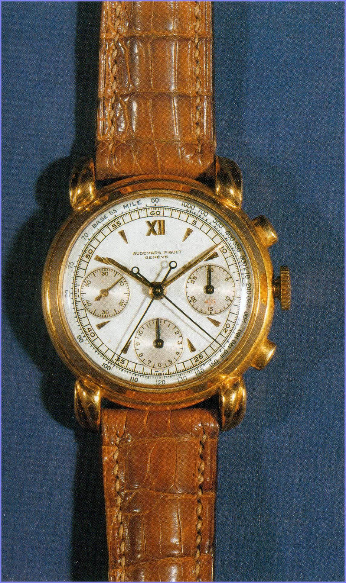 Der Audemars Piguet Chronograph-Rattrapante ist ein Unikat