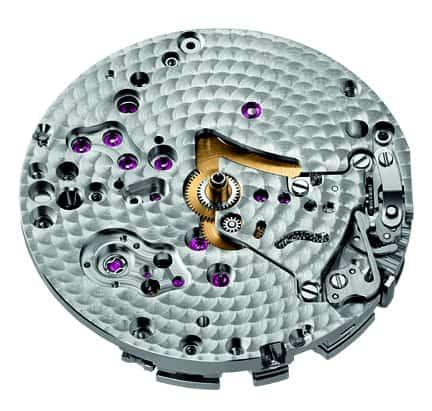 Im Gegensatz zum Audemars Piguet Chronographenkaliber 4401 besitzt das Kaliber 4409 keinen Datumsring,