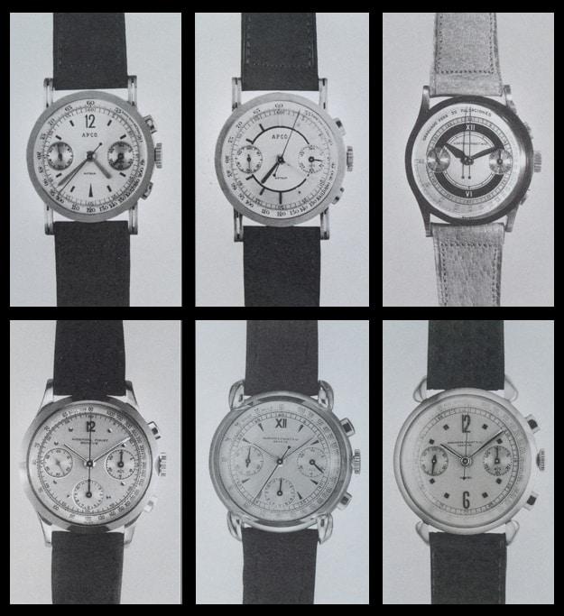 Historische Audemars Piguet Handaufzugschronographen - Übersicht 2