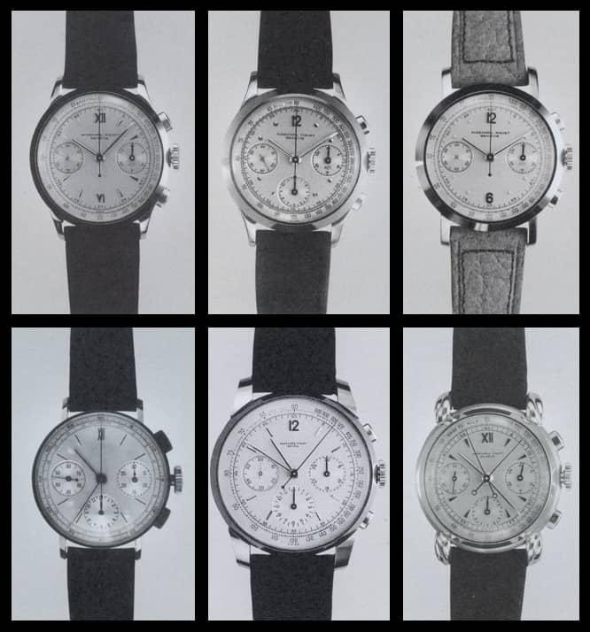 Historische Handaufzugschronographen von Audemars Piguet