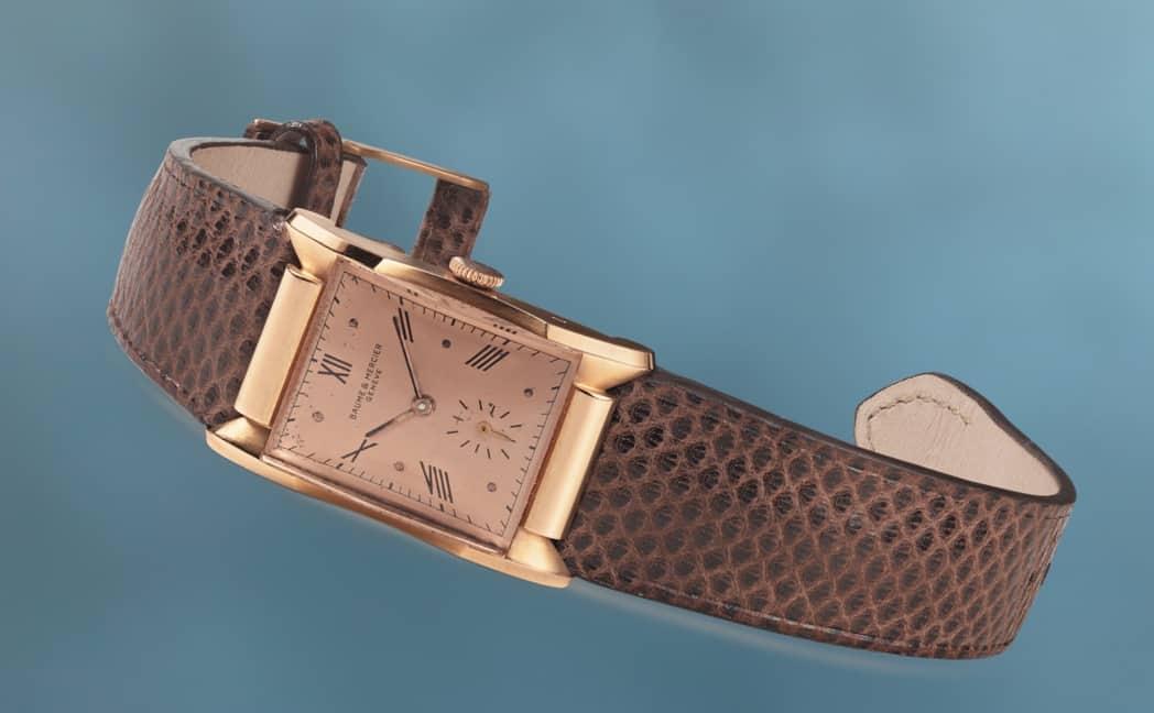 Das Modell Baume & Mercier Nr. 50439 stammt aus den 1940-er Jahren