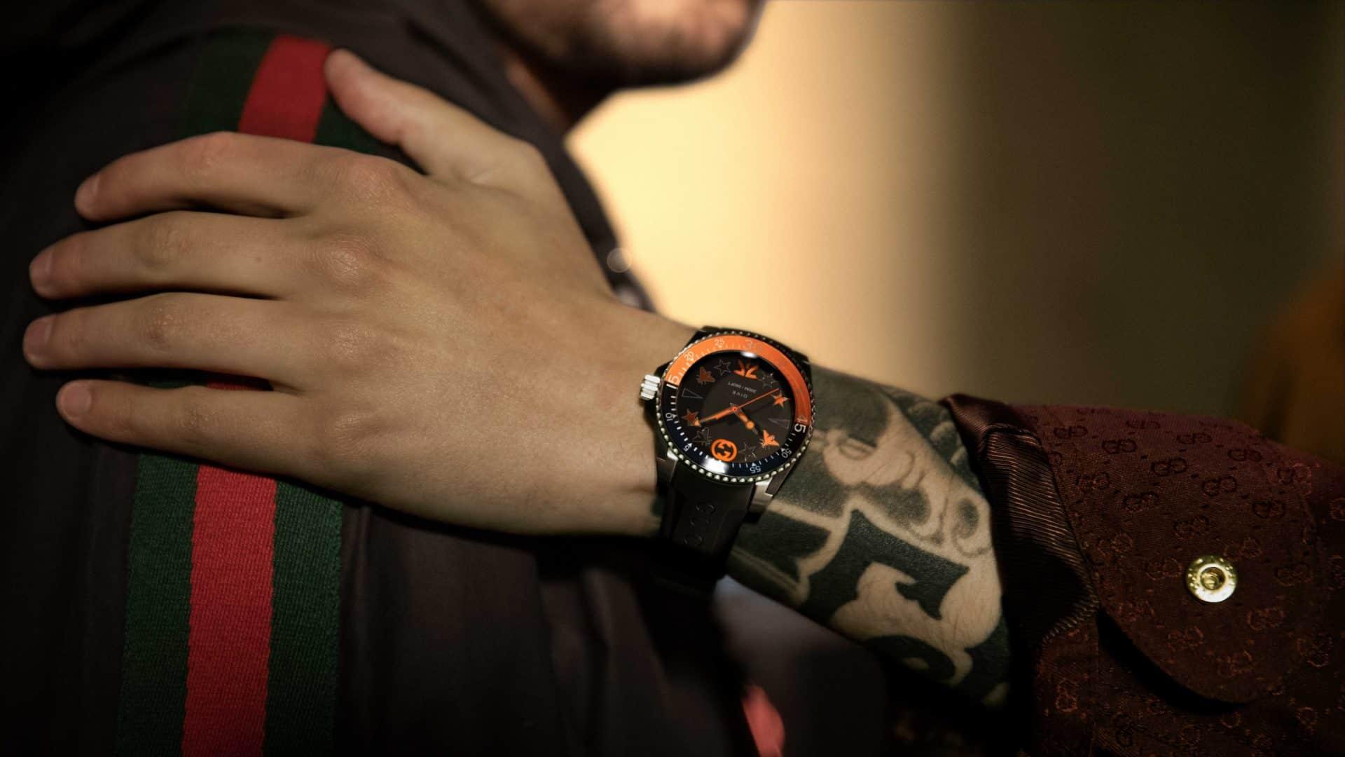 Fnatic x Gucci Dive EditionFnatic x Gucci – neue Armbanduhr für virtuelles Abtauchen am Computer