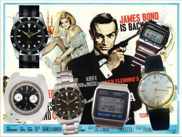 Alle James Bond Uhren der ersten 007 Filme!