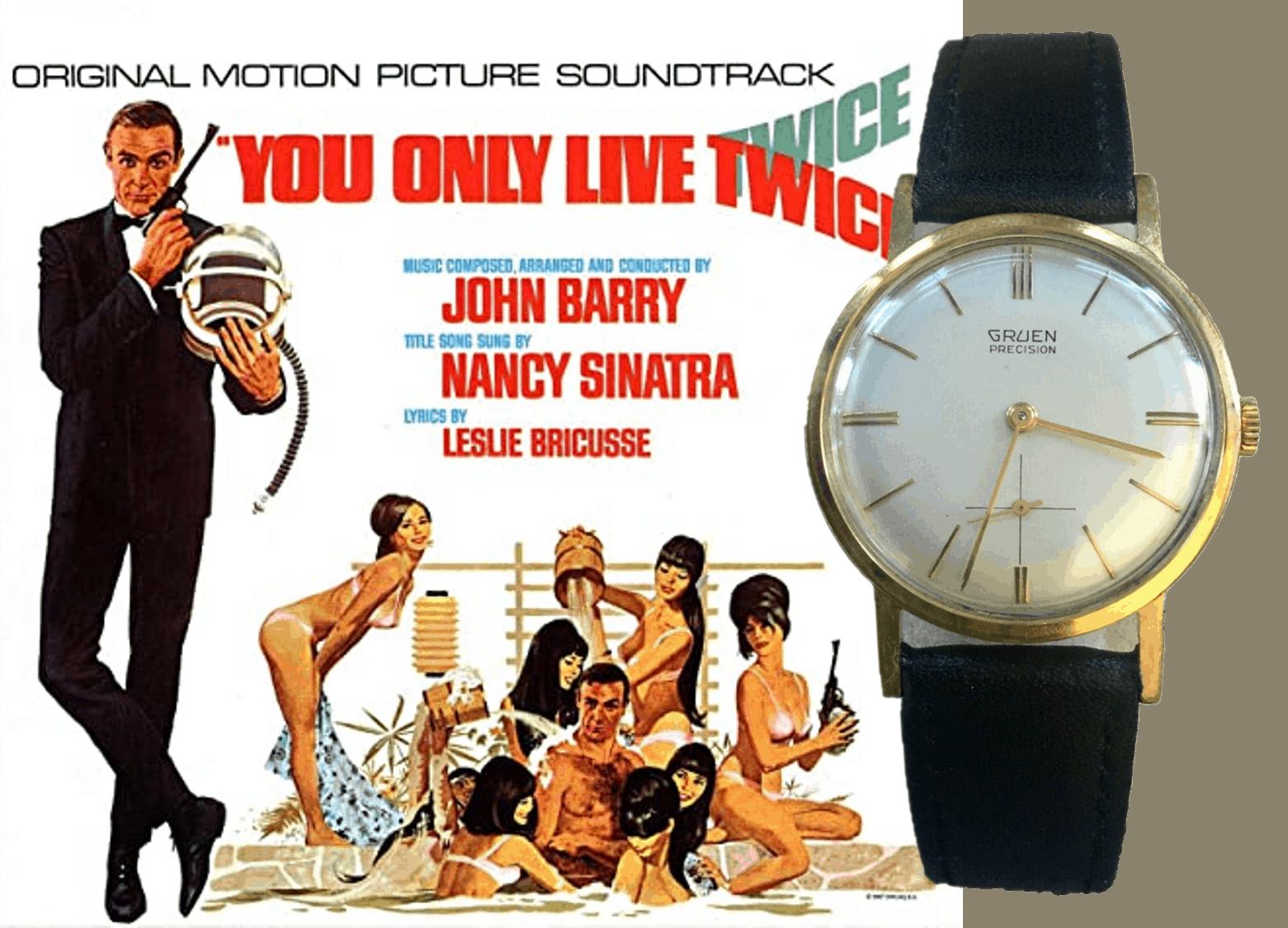 James Bond Streifen You only live twice und die darin vorkommende Gruen Precision
