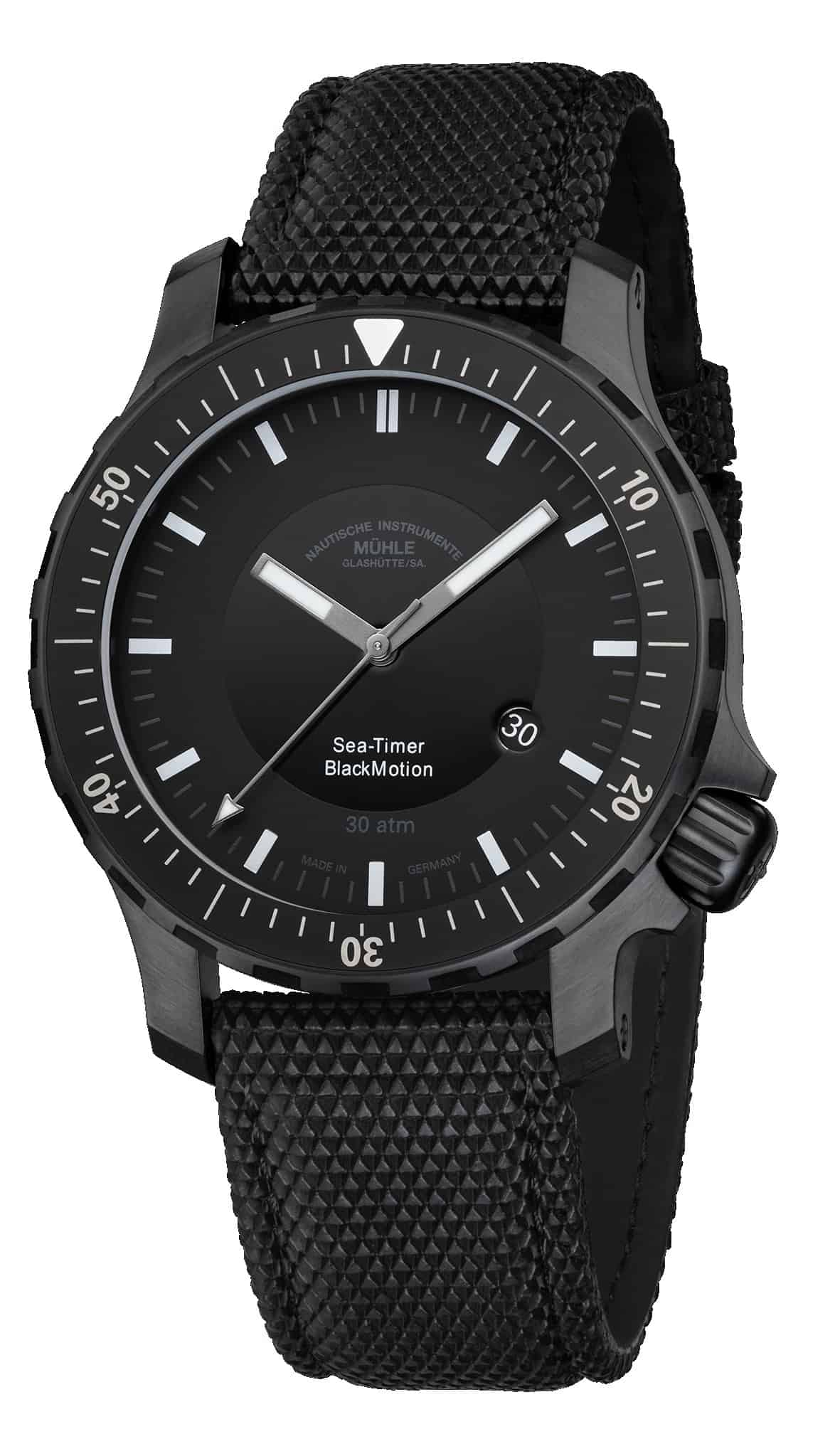 Mühle-Glashütte Sea-Timer BlackMotion für 2.200 €