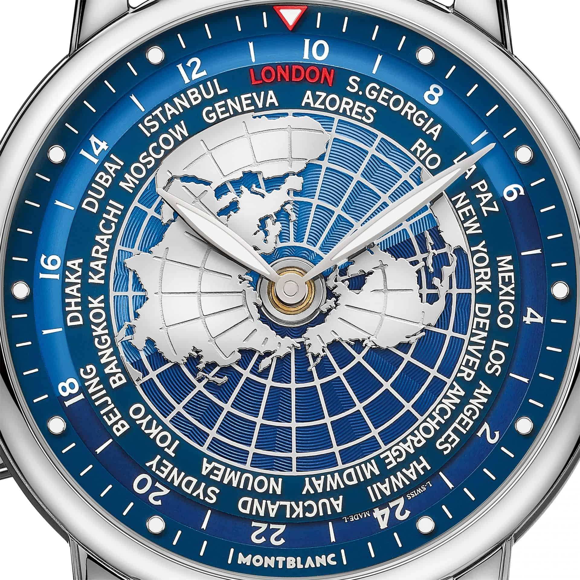 Die Stahl-Version der Montblanc Star Legacy Orbis Terrarum
