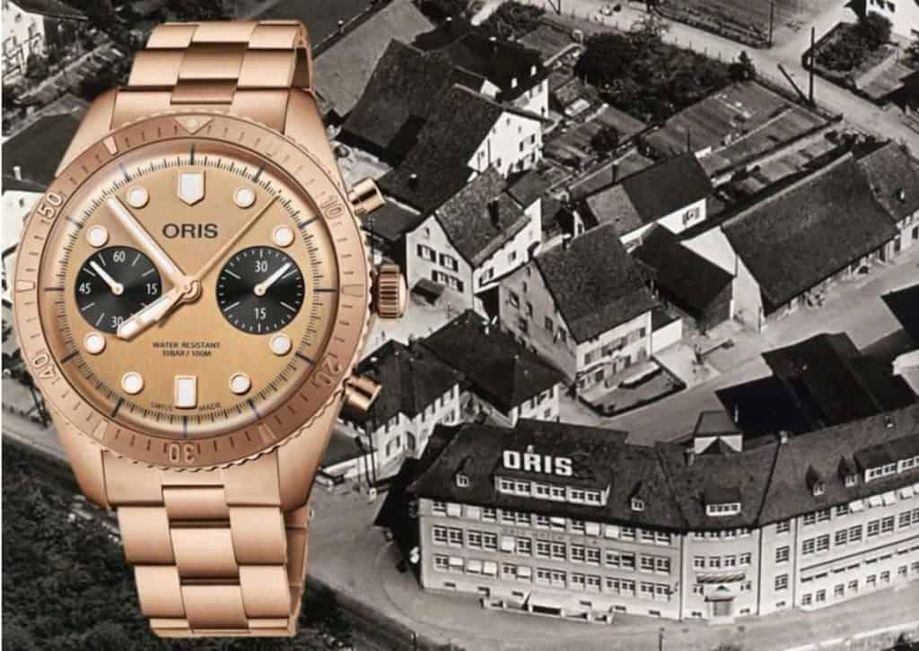 Oris Divers Sixty-Five Chronograph Edition Bronze