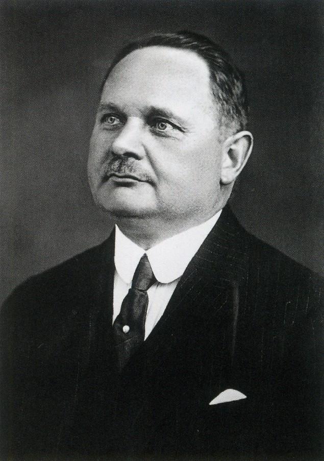 Der 2. Oris Gründer Georges Christian
