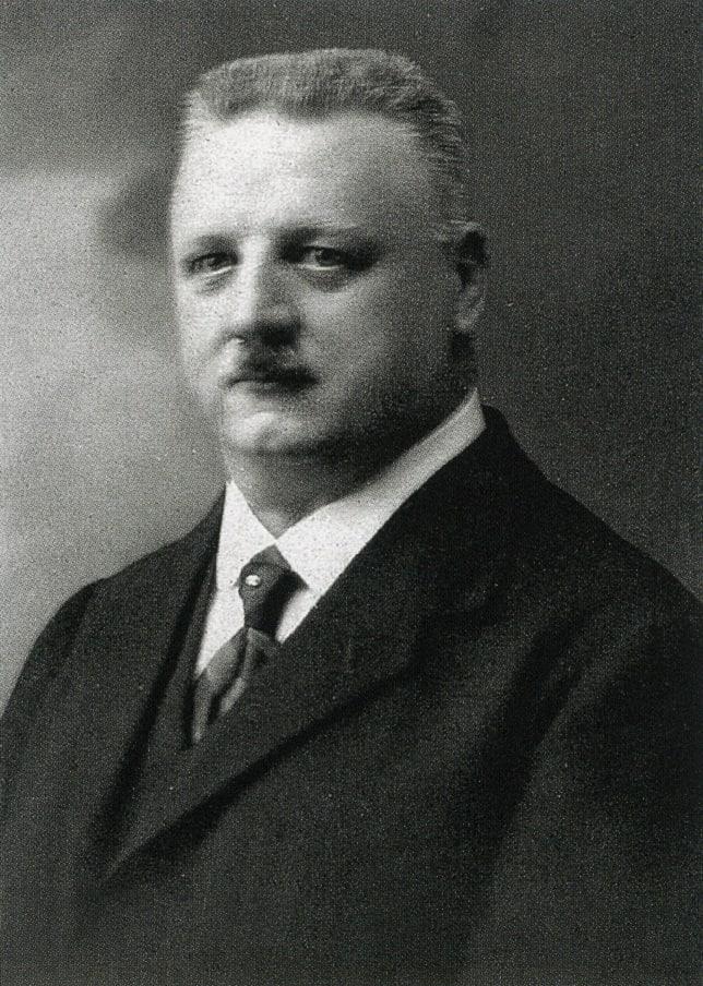 Der Gründer der Oris Uhrenmarke Paul Cattin