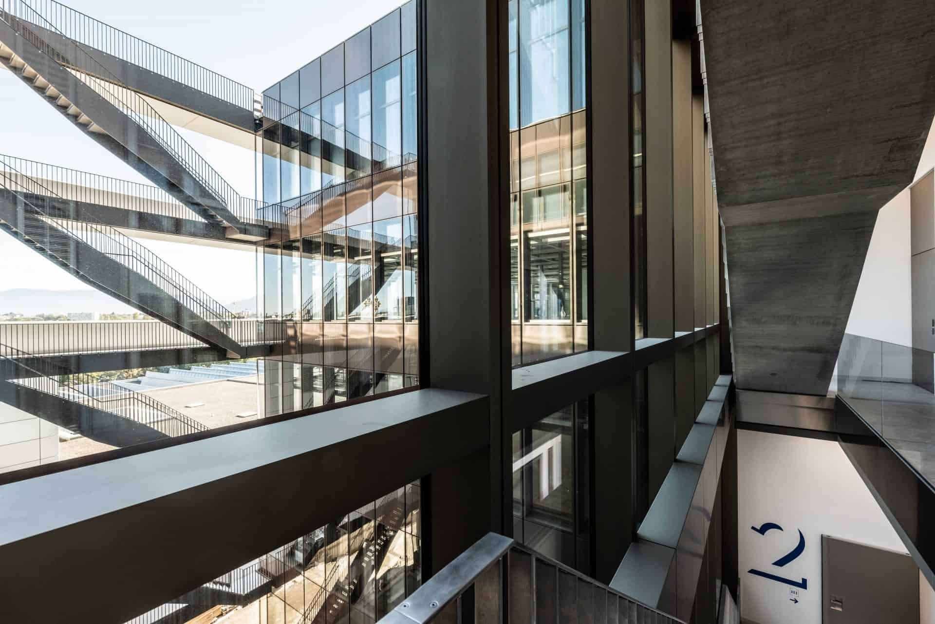 Das neue Manufakturgebäude von Patek Philippe in Plan-les-Quates