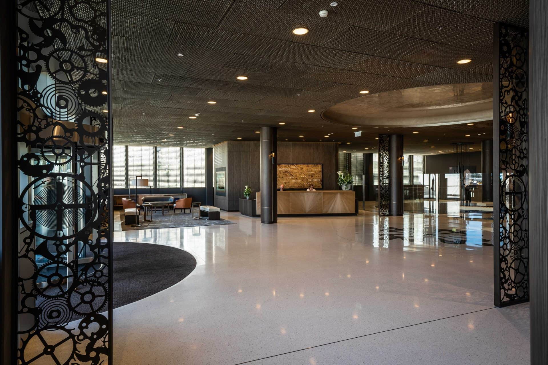 Das neue Patek Philippe Manufakturgebäudes in Genf ist ein Schmuckstück