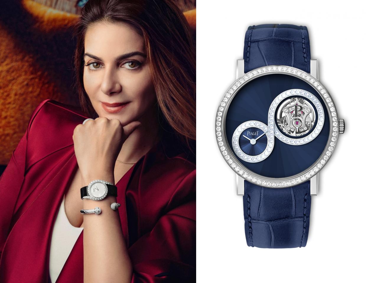 Chabi Nouri, CEO Piaget setzt auf Luxus!