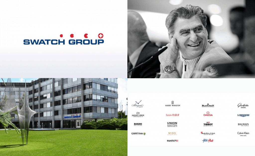Swatch Group Marken Nick Hayek