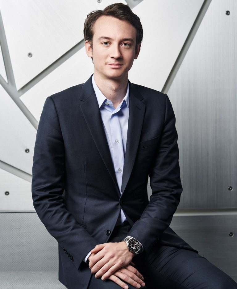 Frederic Arnault CEO TAG Heuer