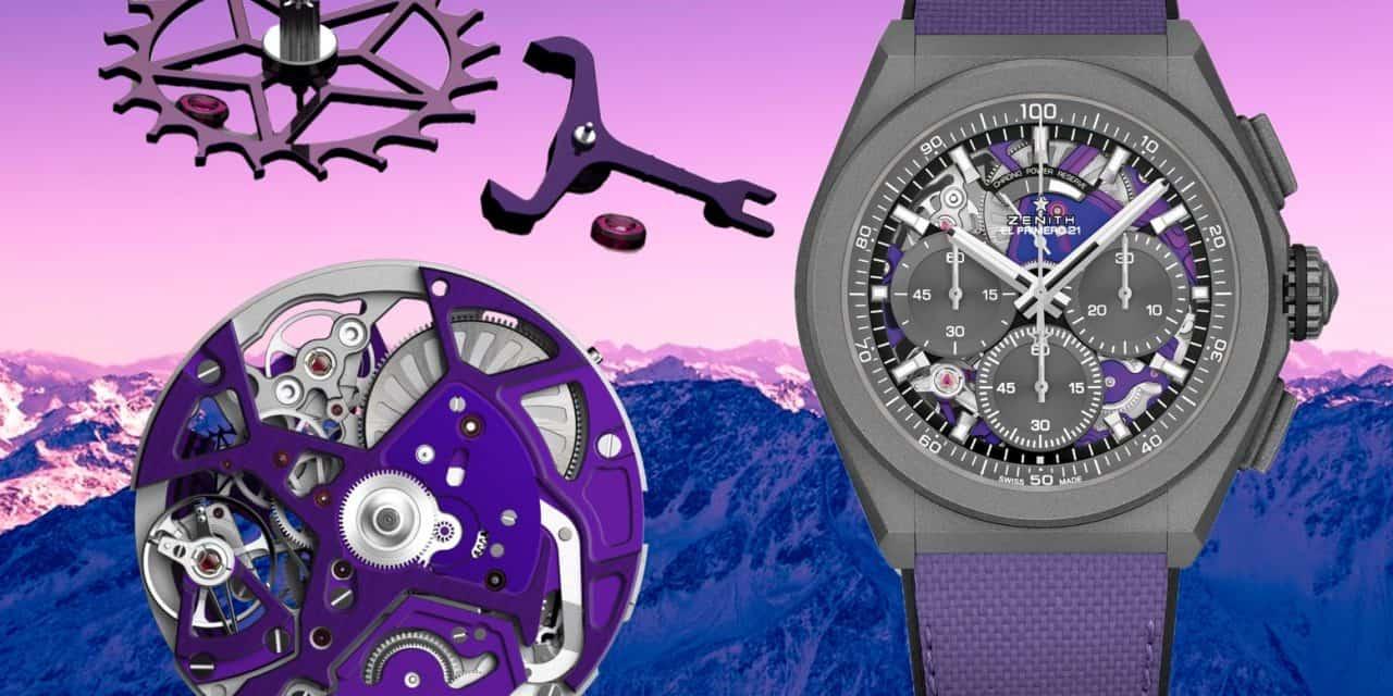 Ultra: Die Zenith Defy 21 Ultraviolet punktet mit 2 Gangreglern