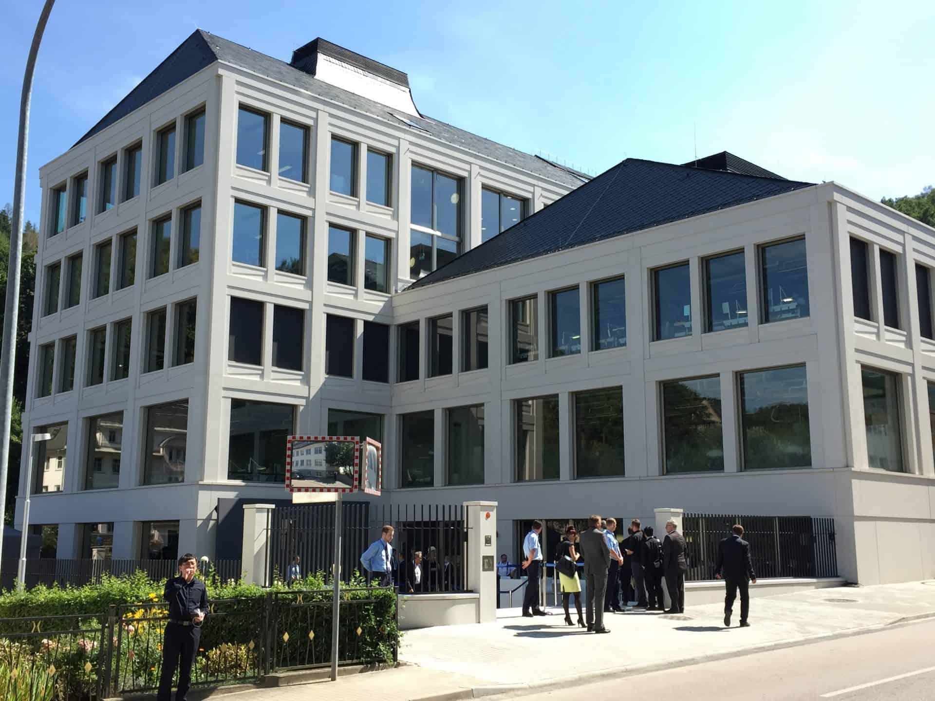 Das Manufakturgebäude von A. Lange & Söhne wurde im August 2015 eröffnet