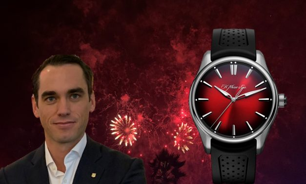 Die H. Moser & Cie. Pioneer Centre Seconds Swiss Mad Red sieht rot!