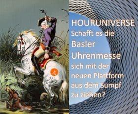 Aus Baselworld wird Houruniverse: Die Uhrenmesse Basel versucht den Neustart als Plattform