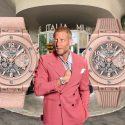 Think pink! Garage Italia und ihre Hublot Big Bang Millennial Pink