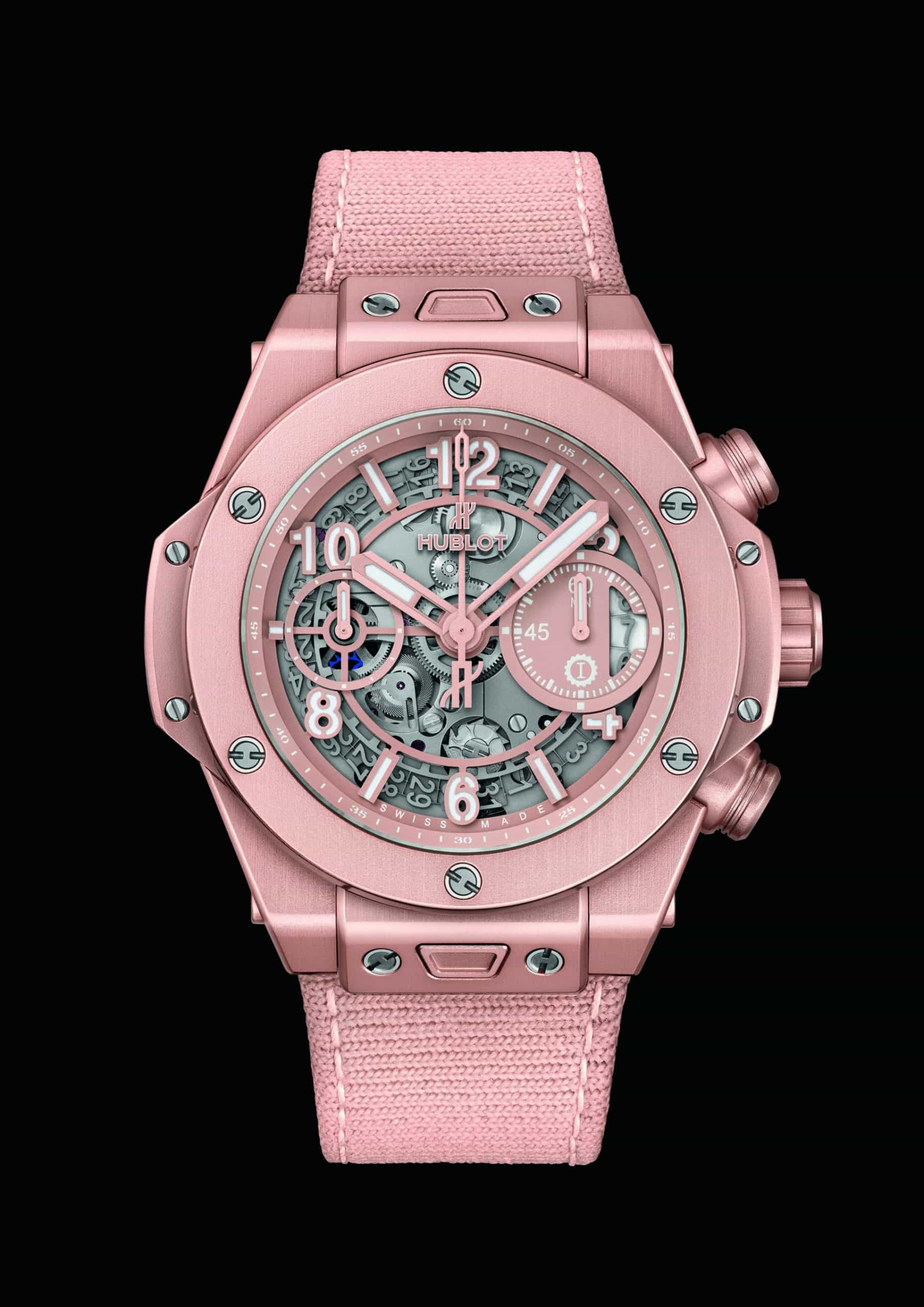 Hublot Big Bang Millennial Pink Garage Italia - ein echter eyecatcher
